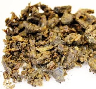 Dry propolis.